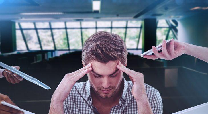 stress au travail aider un collegue