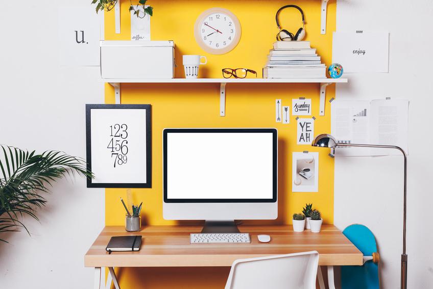 objet d co ce que votre d coration de bureau r v le de. Black Bedroom Furniture Sets. Home Design Ideas