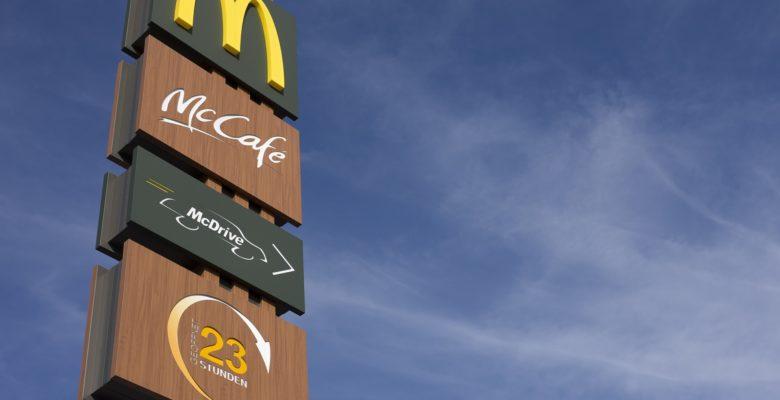 Filtre Snapchat recrutement McDonald's